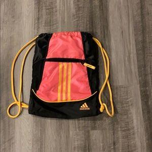 Drawstring adidas backpack